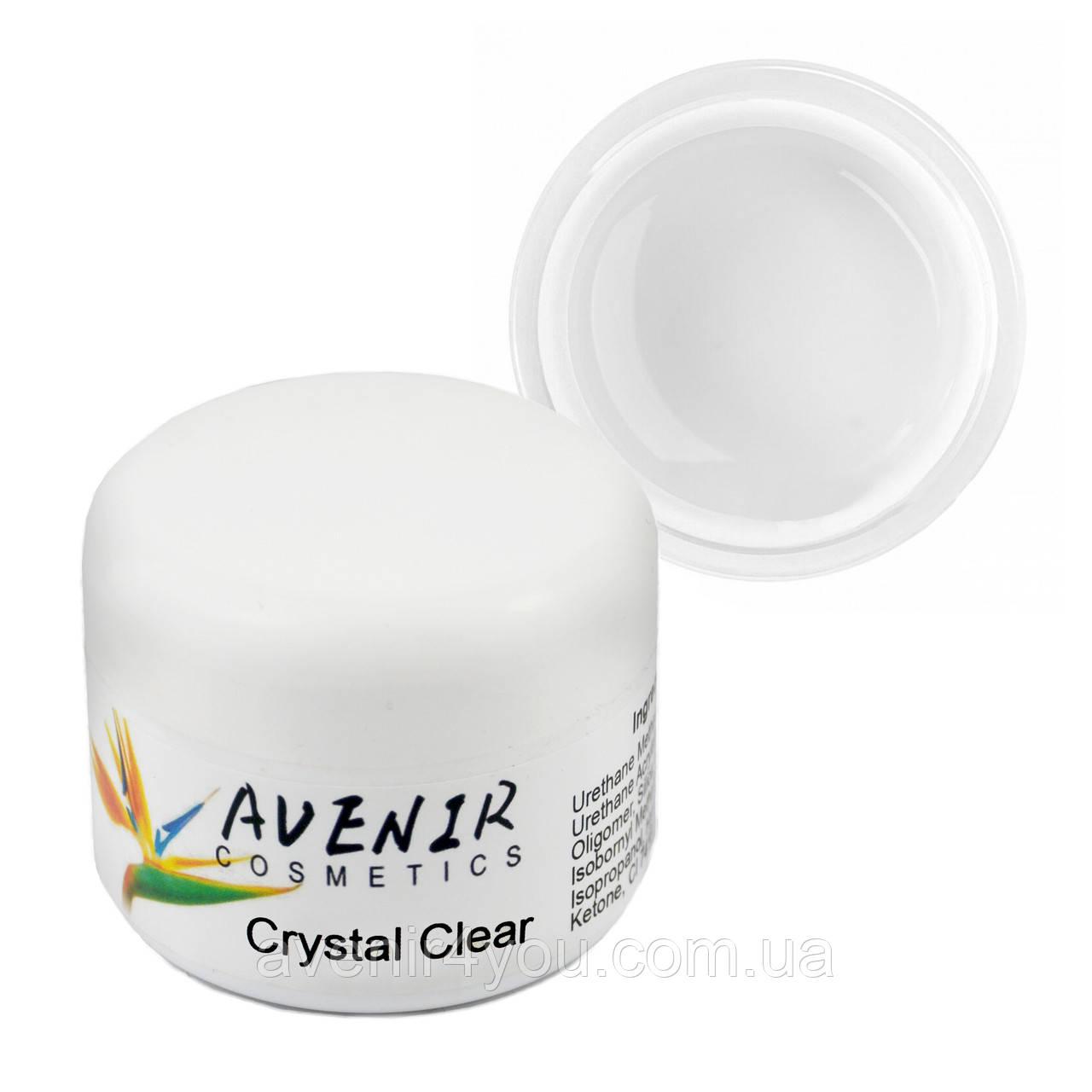 Гель для нарощування Crystal clear Avenir 15 мл, 30 мл, 50 мл