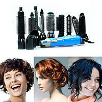 Воздушный стайлер для волос 9 в 1 Gemei GM-4833