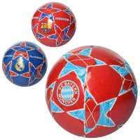М'яч футбольний 2500-89 розмір 5, ПУ1, 4мм, ручна робота, 420-430г, 3вида клуби, в куль.