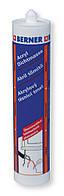 Акриловый герметик Универсальный 310 мл белый, Berner, Германия