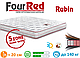 Матрац ортопедичний Four Red Rubin/Матрас ортопедический Рубин, фото 4