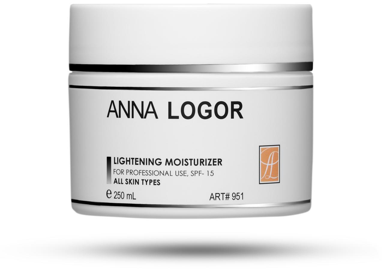 Висвітлюючий зволожуючий крем Анна Логор / Anna Logor Lightening Moisturizer 250 ml Код 951