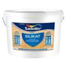 Силикатная фасадная краска SILIKAT Sadolin 10 л