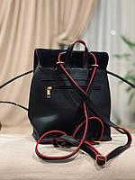 Рюкзак женский  Натуральная замша и кожзам., фото 7
