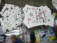 Костюм детский для девочки с шортами и туникой р.86 - 104