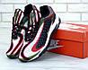 """Кроссовки мужские кожаные Nike Deluxe """"Разноцвет"""" р. 41-45"""