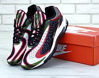 """Кроссовки мужские кожаные Nike Deluxe """"Разноцвет"""" р. 41-45, фото 1"""