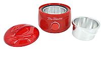 Баночный воскоплав Pro Wax 100 для воска в банке, в таблетках и в гранулах (красный)