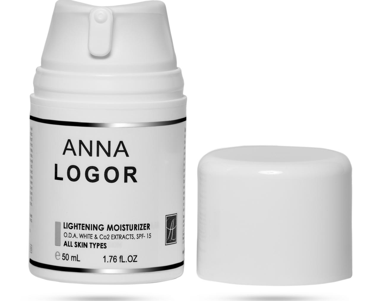 Висвітлюючий зволожуючий крем Анна Логор / Anna Logor Lightening Moisturizer 50 ml Код 951