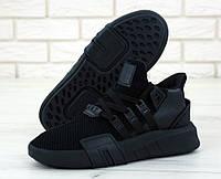 """Кроссовки мужские Adidas EQT Black """"Черные"""" адидас р. 41-45"""