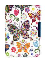 Обложка - чехол для электронной книги PocketBook 640/641 Aqua 2 с графикой Бабочки