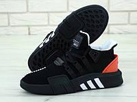 """Кроссовки мужские Adidas EQT Black """"Черные с красным"""" адидас р. 41-45"""