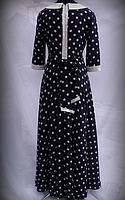 Жіноче плаття в горох, фото 3