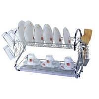 Функциональная сушилка для посуды UNIQUE 2002 металлическая