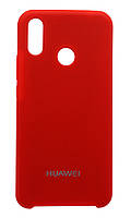 Чехол Silicone Cover для Huawei P Smart Plus (Red)