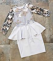 Платье для девочки 8-14 лет нарядное