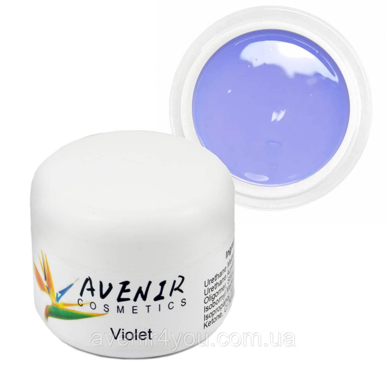 Гель для наращивания Violet Avenir 15 мл
