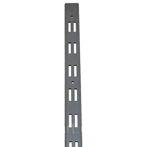 Перфопрофиль (рейка) серый двойной