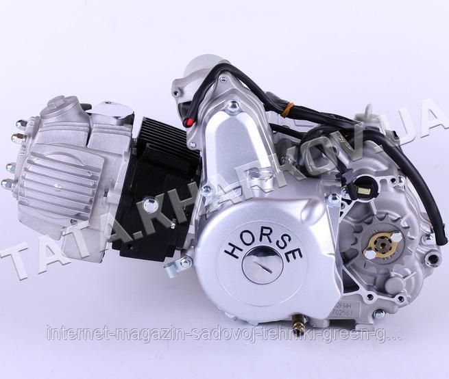 Двигатель Дельта/Альфа/Актив 110CC (полуавтомат)