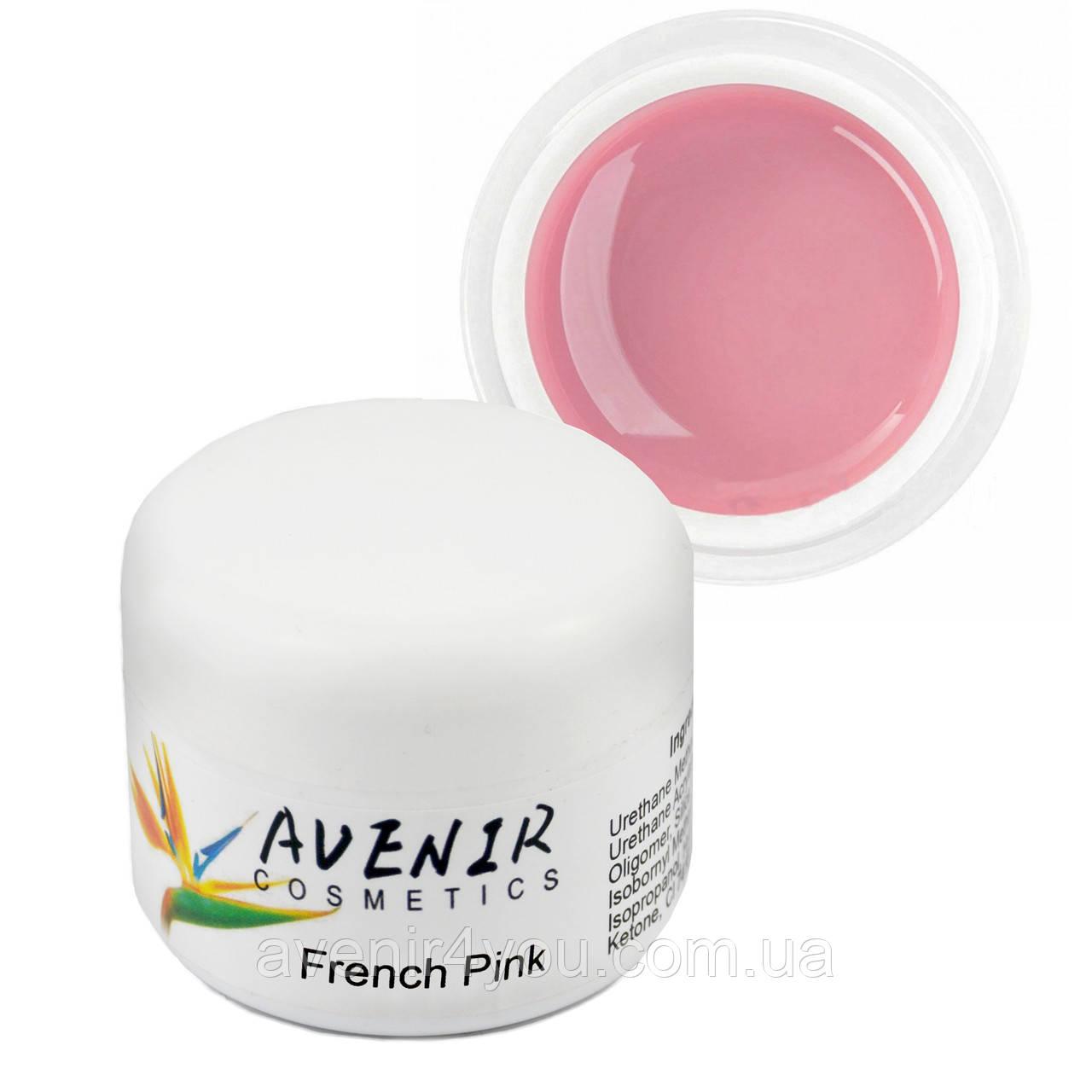 Гель для наращивания French Pink Avenir 15 мл, 30 мл, 50 мл