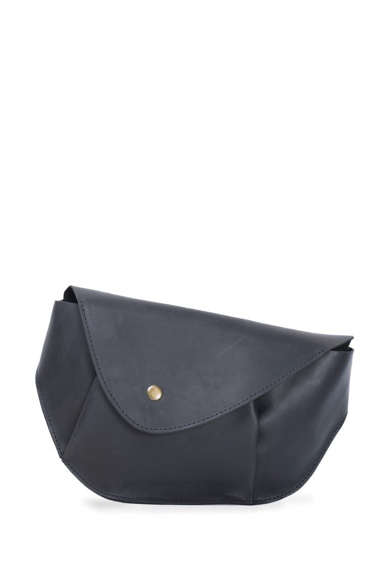 Элегантная поясная сумка из натуральной кожи