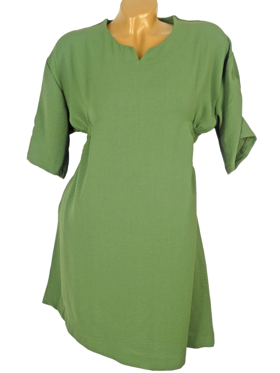 Удобная батальная платье-туника (в расцветках)