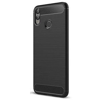 Противоударный бампер PRIMO Carbon Fiber Series для Honor 8X - Black