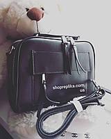 Кожаная сумка , клатч в натуральной коже классическая небольшая сумочка с наплечным ремнем