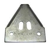 Сегмент ножа жатки Шумахер с вырезами  (Германия)  Z93077