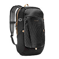 Рюкзак туристический черный на 20 л.(для города и походов) QUECHUA