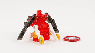 Скричер - робот который трансформируется в машину. Красного цвета