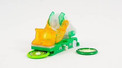 Скричер - робот трансформируется в грузовик. Желто-зеленого цвета