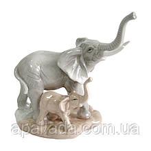 """Статуетка """"Слони"""", 17см"""