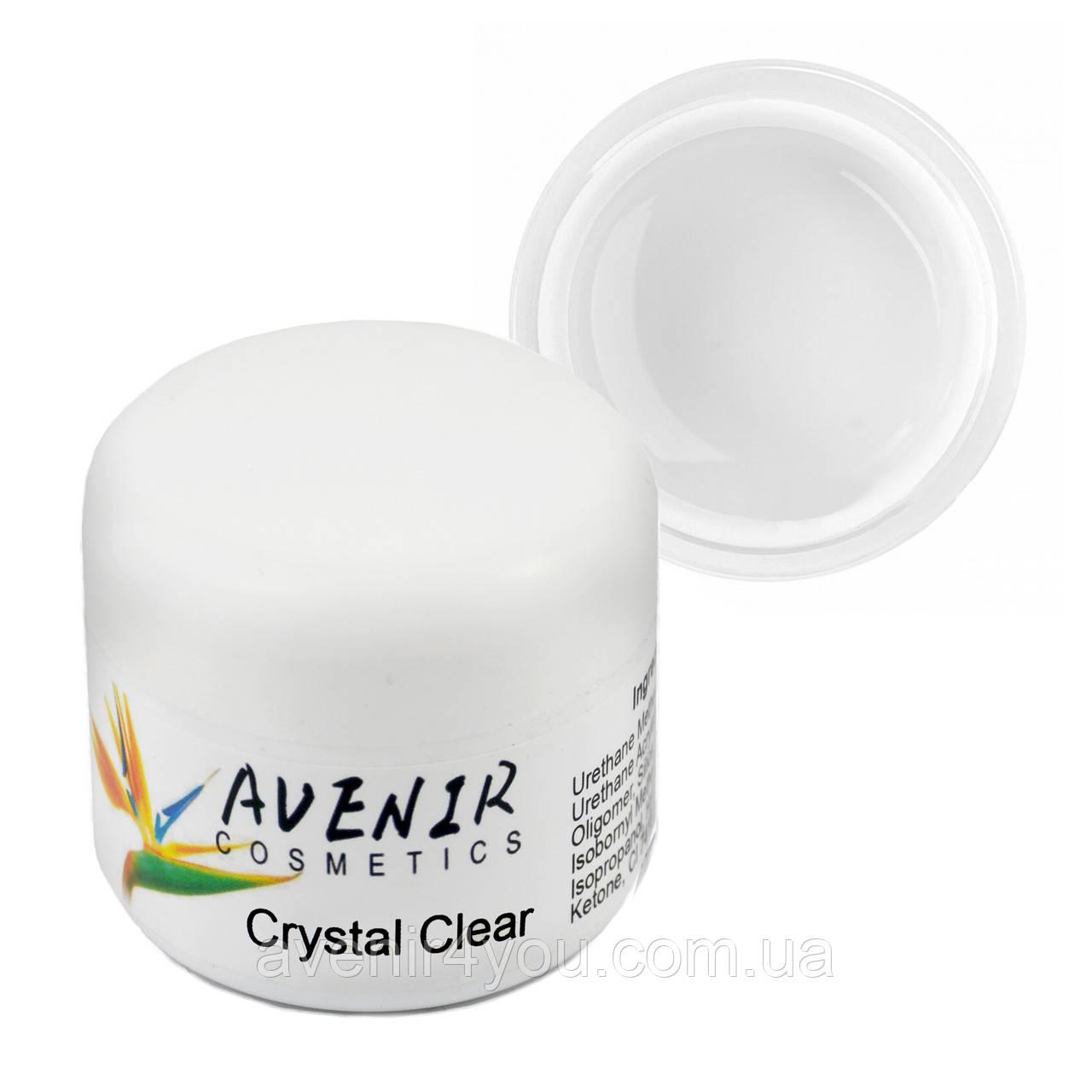 Гель для наращивания Crystal clear Avenir 50 мл