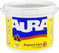 Aura Biogrund Aqua 2,5 л Бесцветная грунтовка для древесины с антисептиками, для предварительной грунтовки