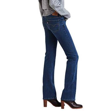 Джинсы женские Levi's 715 Bootcut /W25xL32/Mid Rise/Slim trough/Hip and thigh/Оригинал, фото 2