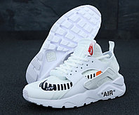 """Кроссовки мужские/женские Nike Air Huarache OFF White """"Белые"""" р. 36-39, фото 1"""