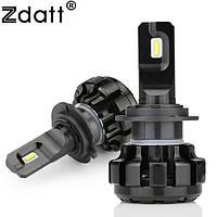 Комплект (2шт) лампы ZDATT LED H7 HEADLIGHT 6000K 50W 12000LM 12V
