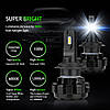 Комплект (2шт) лампы ZDATT LED H7 HEADLIGHT 6000K 50W 12000LM 12V - Фото