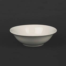 Салатник фарфоровый молочный цвет 750 мл Helios (4418)