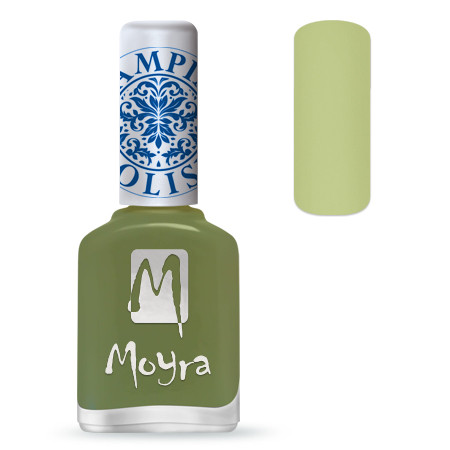 Лак для стемпинга Moyra №15 Light Green