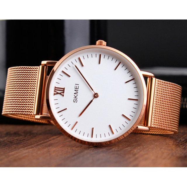 Skmei 1181 cruize large золотые мужские часы