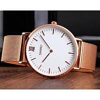 Skmei 1181 cruize large золотые мужские часы, фото 1