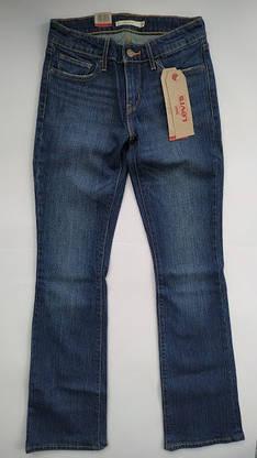 Джинсы женские Levi's 715 Bootcut /W25xL32/Mid Rise/Slim trough/Hip and thigh/Оригинал, фото 3