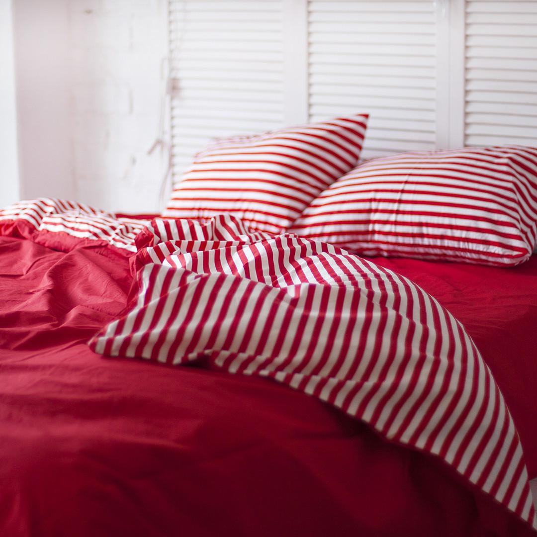 Комплект постельного белья PF054_полуторный(двуспальный, евро, семейное), поплин, 100% хлопок