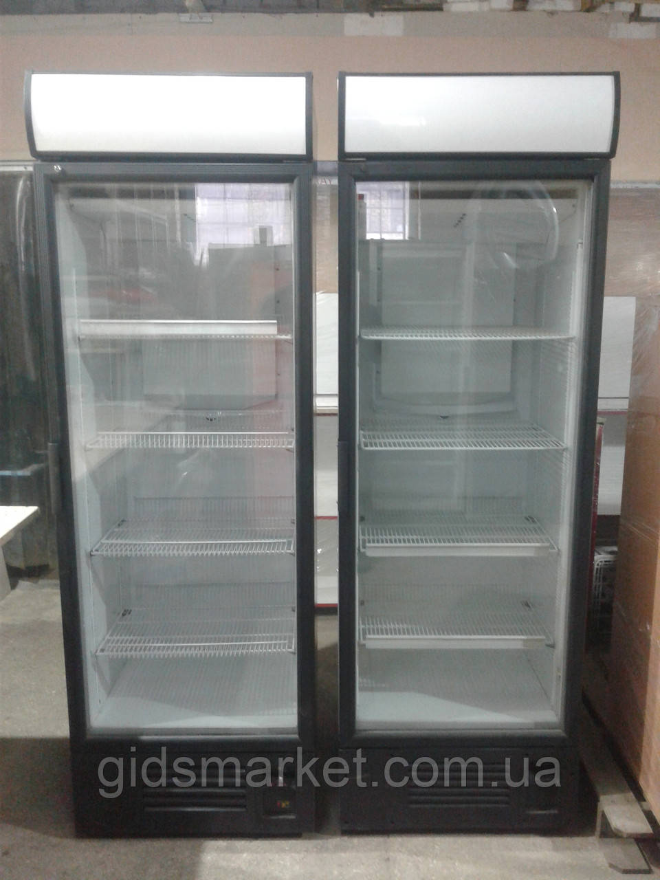 Холодильный шкаф Интер 390 л. бу. витринный шкаф бу.
