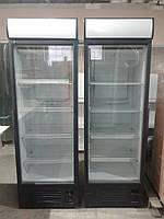 Холодильный шкаф Интер 390 л. бу. витринный шкаф бу., фото 1