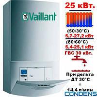 Котел газовый настенный-Vaillant ,ecoTEC plus VUW INT 306/5-5H,мощность-25 кВт,Condens.