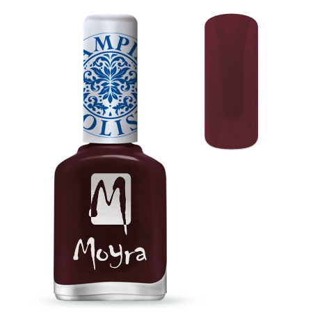 Лак для стемпинга Moyra SP03  Burgundy Red