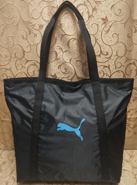 5666458c Спортивная сумка женская черная, пляжная сумка, спортивная сумка Puma копия